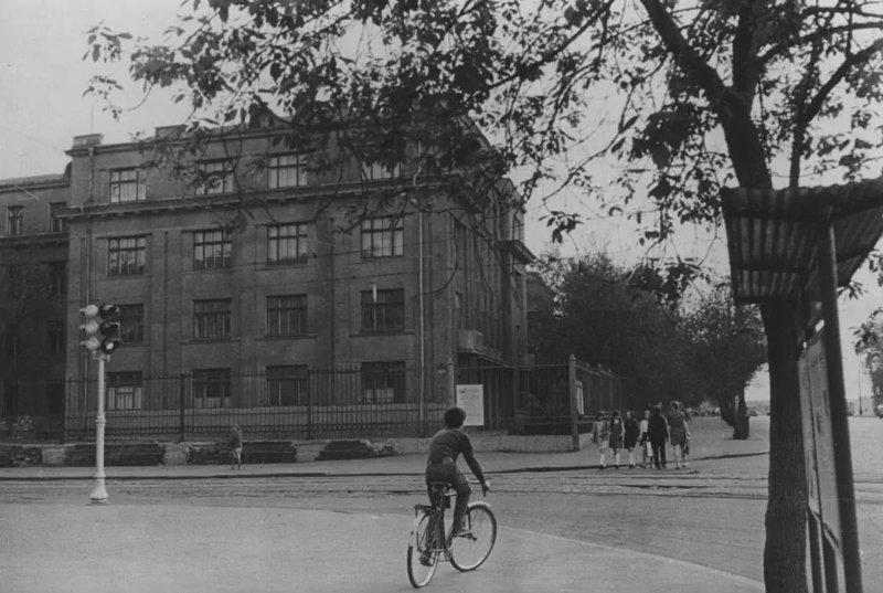 Школа № 204 им. А.М.Горького Сущёвский вал 1972 СССР, ностальгия, улицы Москвы