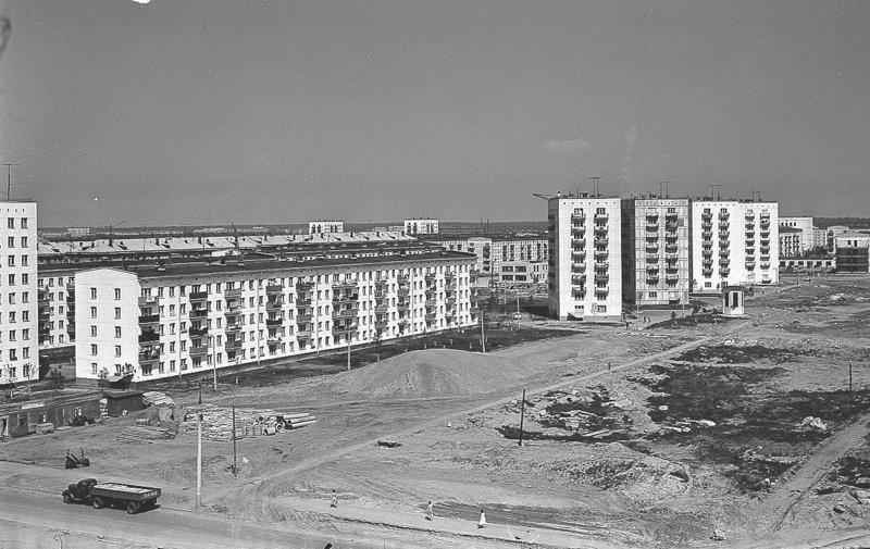 Будущая 9-я Парковая ул. 1964 год СССР, ностальгия, улицы Москвы