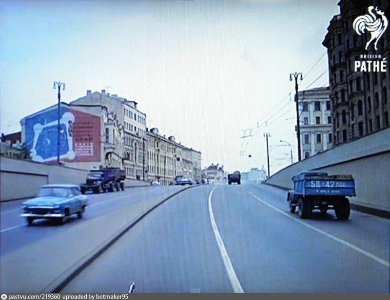 Садовая-Триумфальная улица 1965 СССР, ностальгия, улицы Москвы