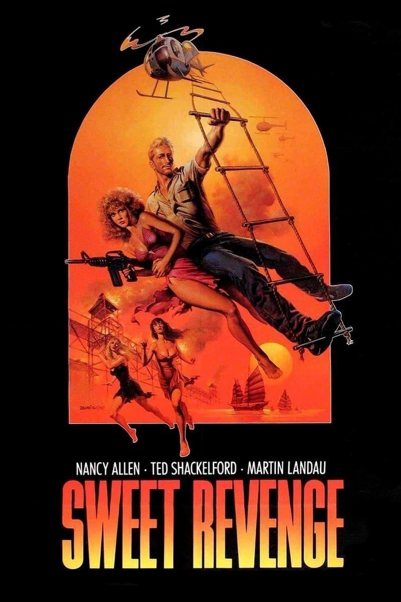 Сладкая месть VHS, боевик, век, обложки, прошлый, факт, фильм