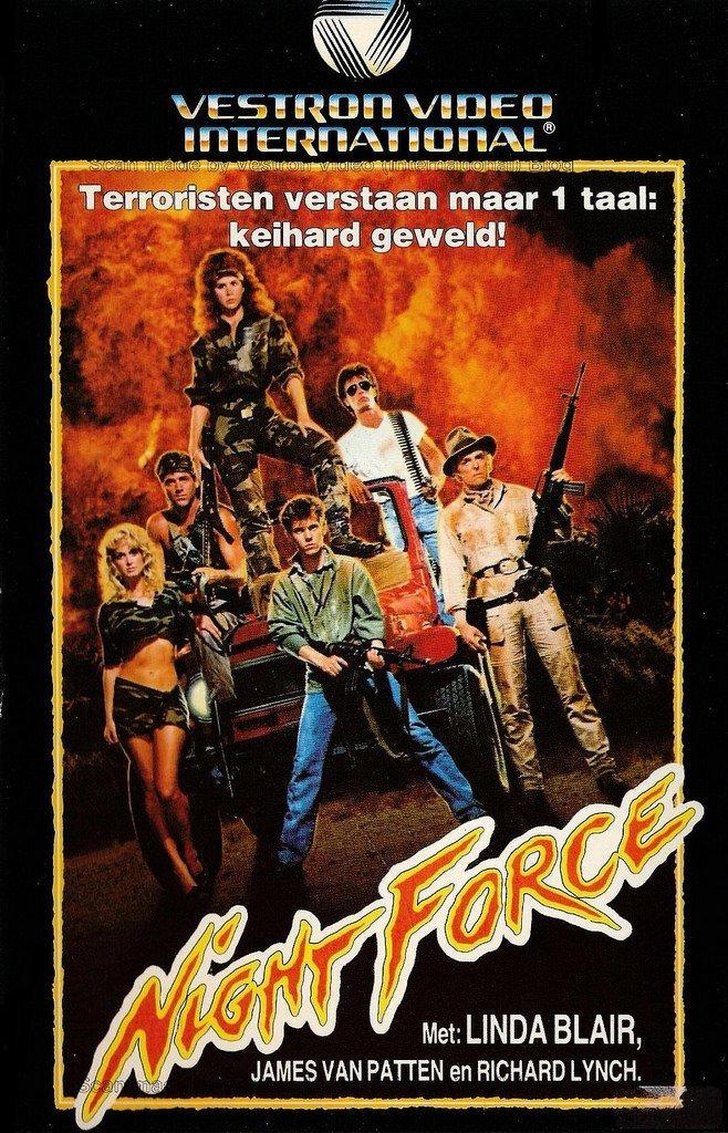 Ночные воины VHS, боевик, век, обложки, прошлый, факт, фильм