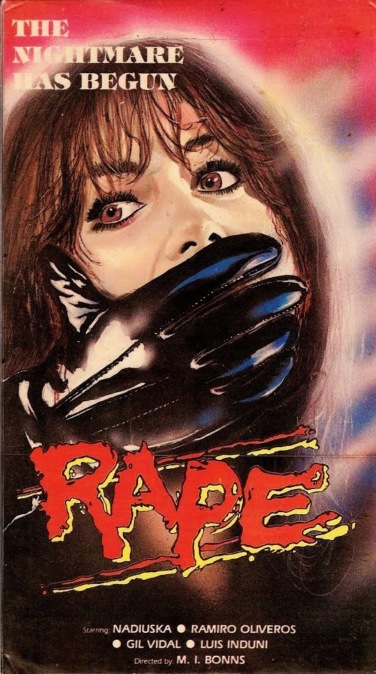 Изнасилование VHS, боевик, век, обложки, прошлый, факт, фильм