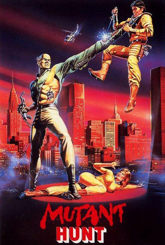 Охота мутантов VHS, боевик, век, обложки, прошлый, факт, фильм