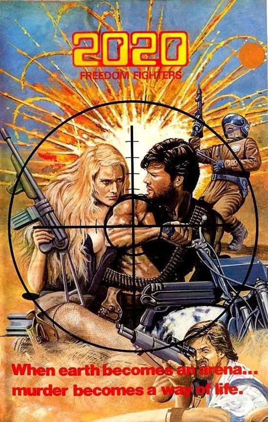2020, свободные бойцы VHS, боевик, век, обложки, прошлый, факт, фильм