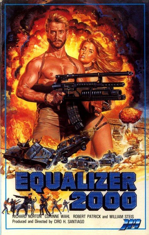 Эквалайзер 2000 VHS, боевик, век, обложки, прошлый, факт, фильм