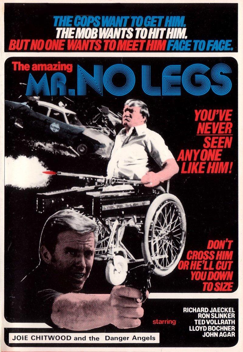 Удивительный мистер безногий VHS, боевик, век, обложки, прошлый, факт, фильм