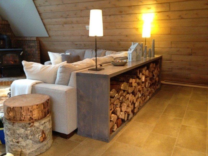 Хранение дров в барной стойке DIY или Сделай сам, дровница, самоделки для дома, своими руками, строительство