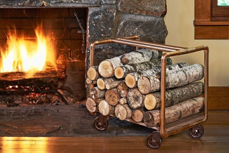 Креативные идеи для хранения дров DIY или Сделай сам, дровница, самоделки для дома, своими руками, строительство