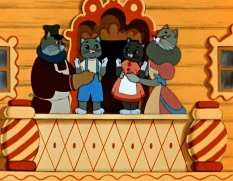 Кошкин дом (1958) Радость, СССР, детсво, лучшие, мультфильм
