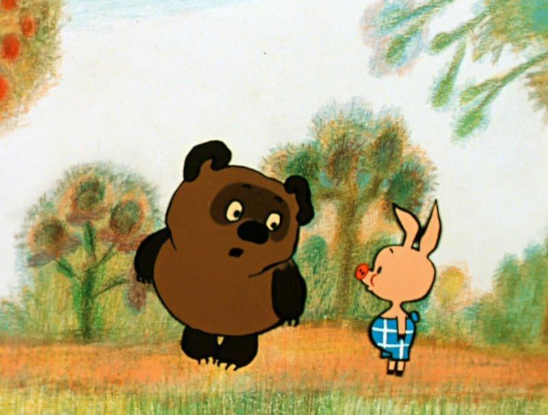 Винни-Пух (1969) Радость, СССР, детсво, лучшие, мультфильм