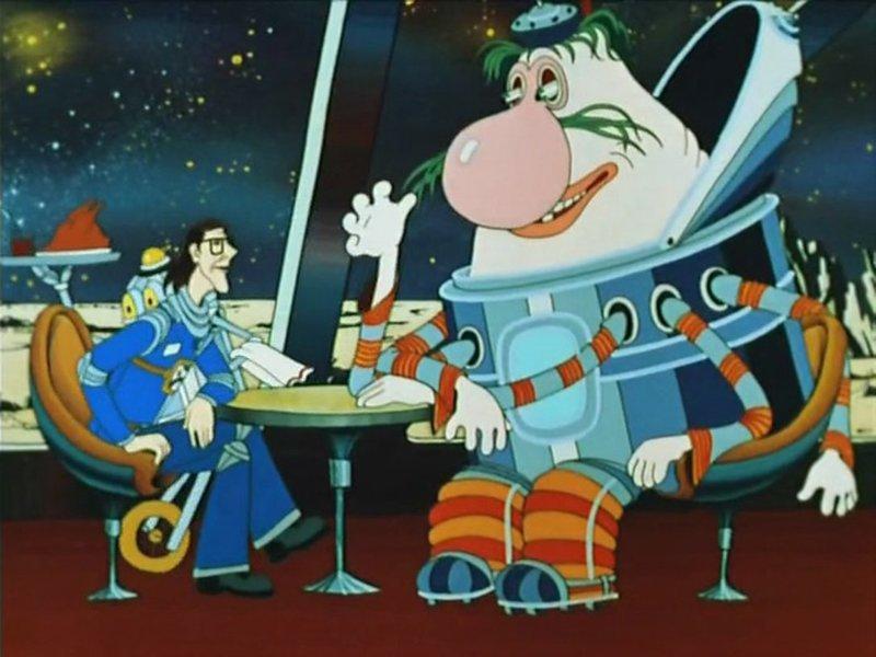 Тайна третьей планеты (1981) Радость, СССР, детсво, лучшие, мультфильм