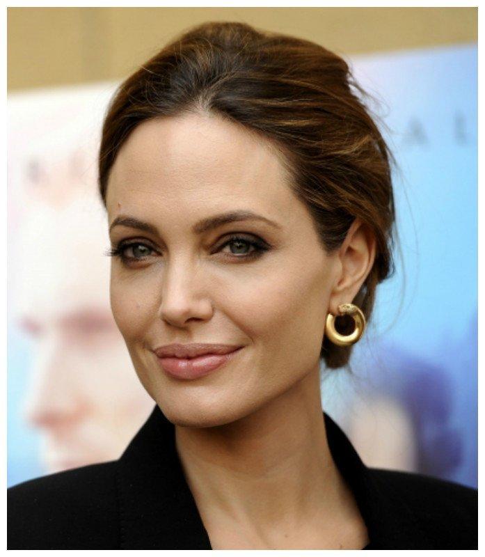 Анджелина Джоли, 1975 г.р. актрисы, зарубежные, звезды, известные, интересное, красиво, стареют. молодость