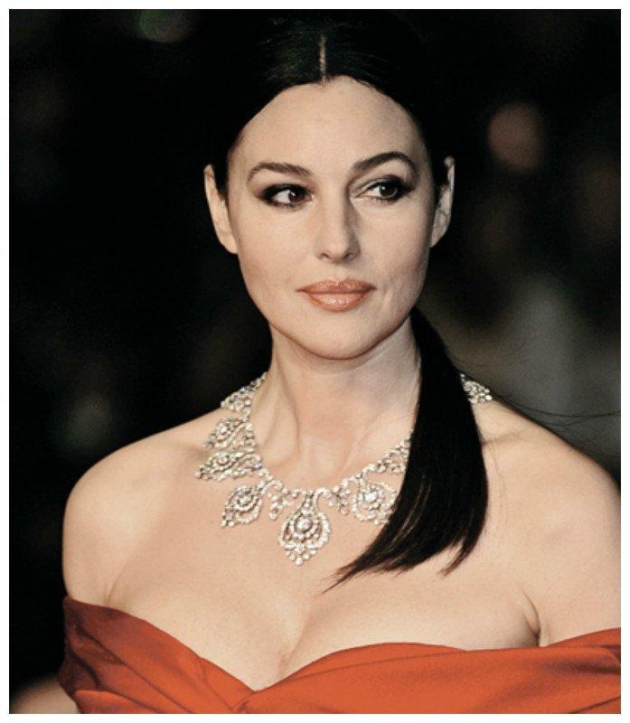 Моника Беллуччи, 1964 г.р. актрисы, зарубежные, звезды, известные, интересное, красиво, стареют. молодость