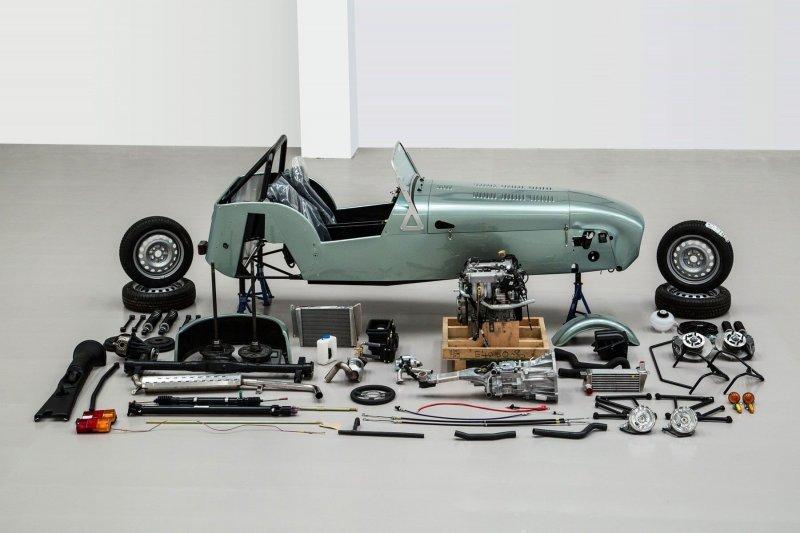 Lotus Seven caterham, lotus, авто, автомобили, интересно, кит-кар, конструктор, сборка автомобиля