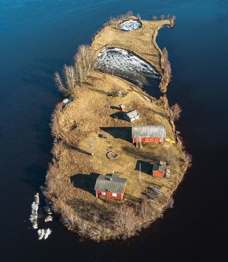 Весна  Котисаари, время года, мир, остров, природа, финляндия, фотография