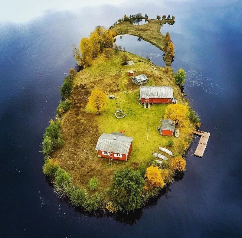 Осень  Котисаари, время года, мир, остров, природа, финляндия, фотография