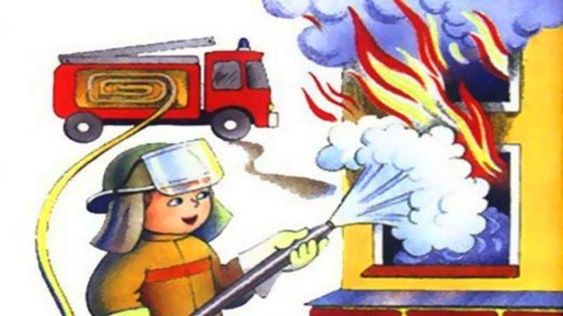 А теперь собственно о самих необходимых действиях ynews, возгорание, интересное, обж, пожар, техника безопасности, фото
