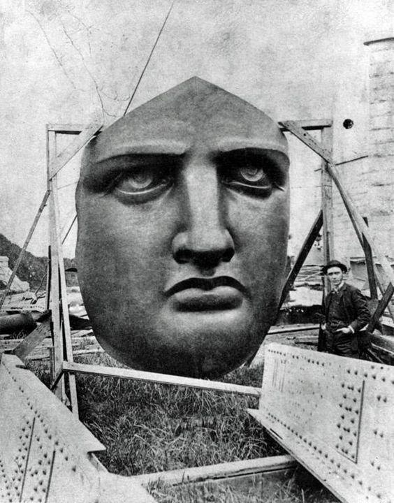 2. Статуя Свободы достопримечательности, интересно, история, строение, фото