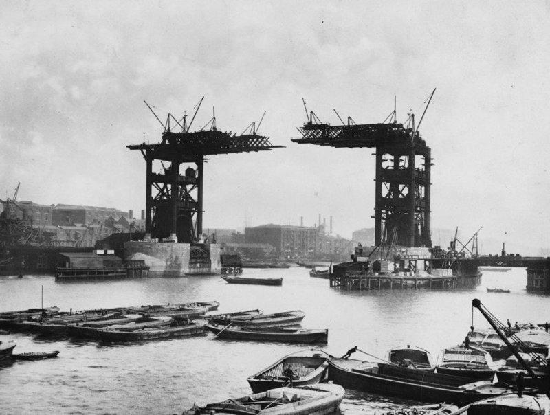 5. Тауэрский мост достопримечательности, интересно, история, строение, фото