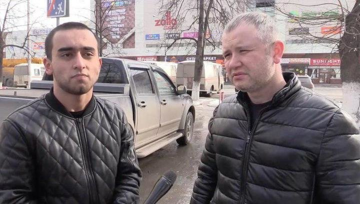 Махмуд Художаев и Фарзон Салилов ynews, герои, кемерово, пожар, пожар в кемерово, спасали людей, трагедия