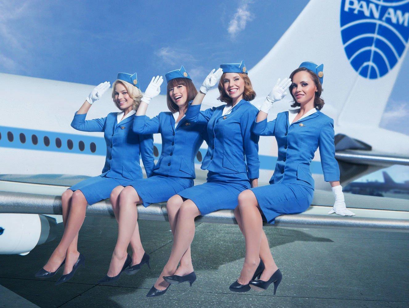 фото веселых стюардесс - 13