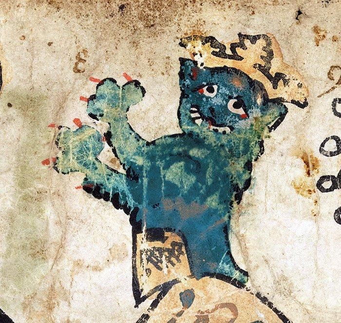 Настоящий король  искусство, картина, кот, кошка, портрет, смех, средневековье, уродство