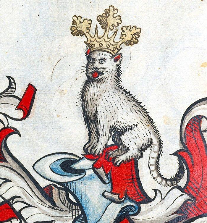 Какое очарование  искусство, картина, кот, кошка, портрет, смех, средневековье, уродство