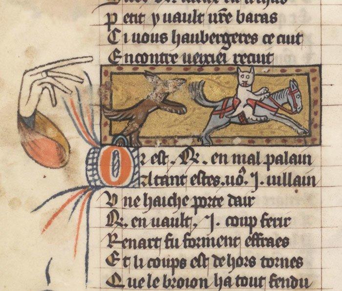 А вот и кот на коне  искусство, картина, кот, кошка, портрет, смех, средневековье, уродство