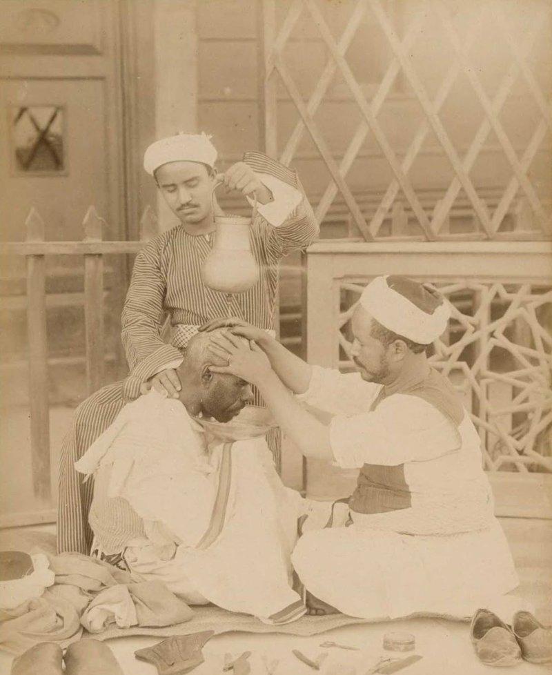 5. Местные парикмахеры  братья Зангаки, египет, интересно, история, фото