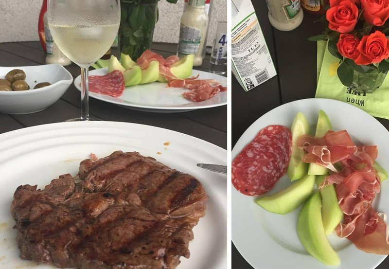 Пятница на гриле гриль, еда, мясо