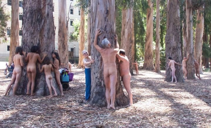 Экосексуалы: секс с природой - путь к ее спасению движение, единение, заниматься сексом, любовь к природе, общественное движение, природа, сексуал, эко