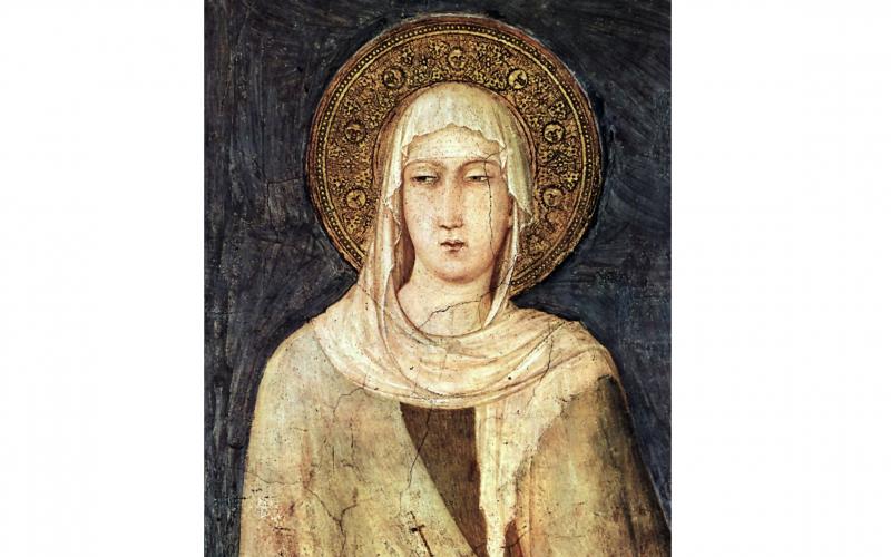 Клара Ассизская - телевидение интернет, покровители, религия