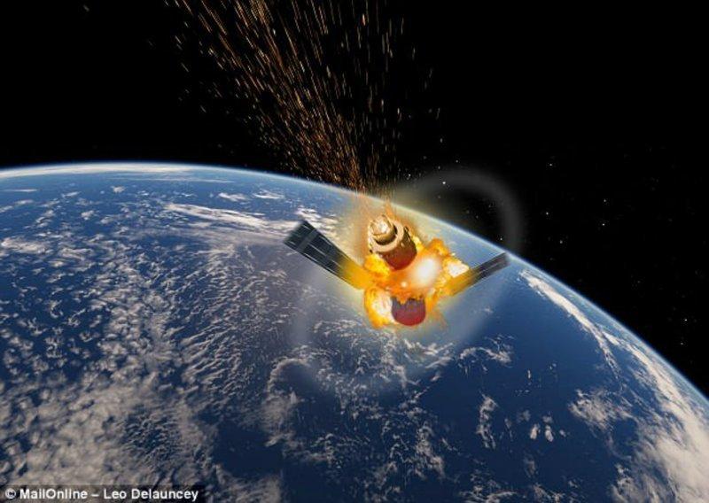 Космическая станция «Тяньгун-1» упадет на Землю 31 марта - 1 апреля