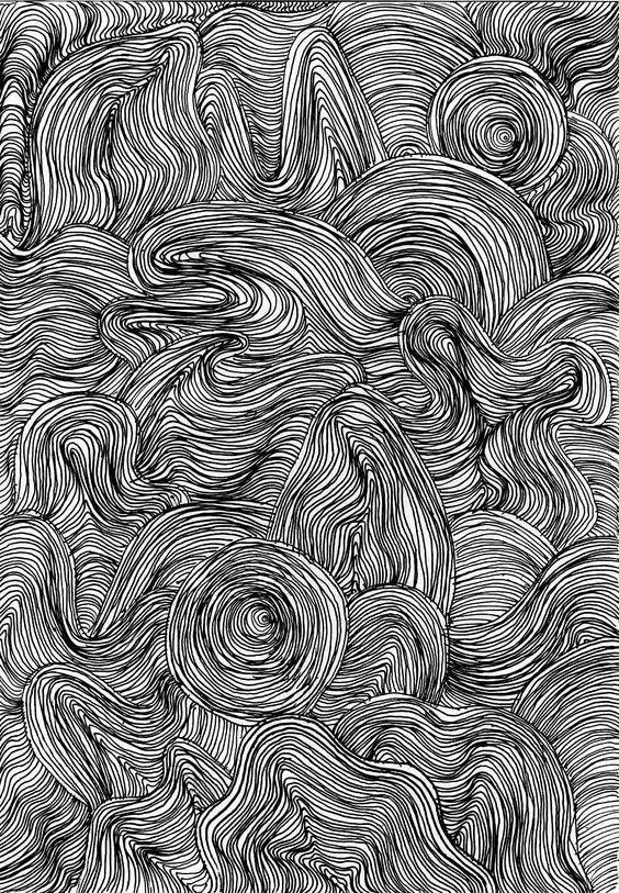 Штриховая графика искусство. штрихи, красота, удивительное, черно-белые рисунки