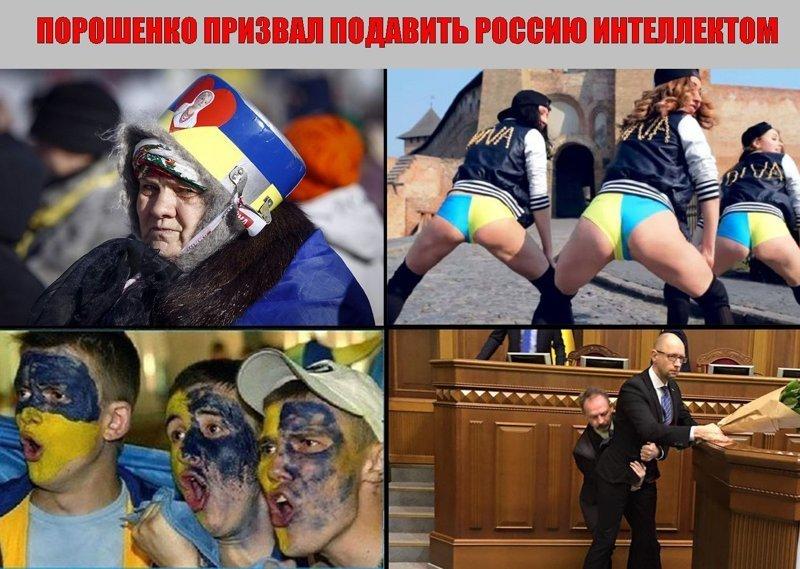 оскорбительные картинки для украинцев это когда моя