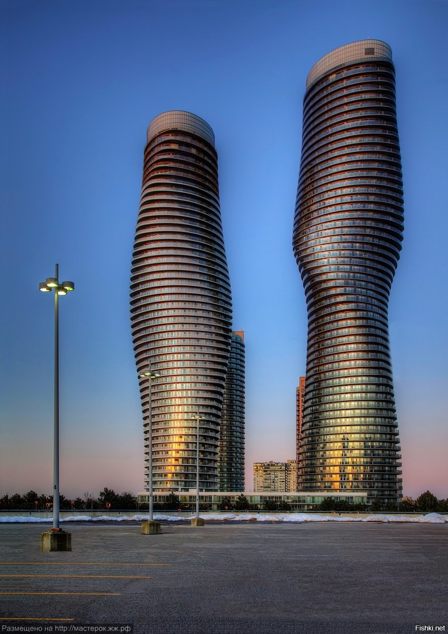 Небоскрёбы Absolute Towers, Миссисcога, Канада