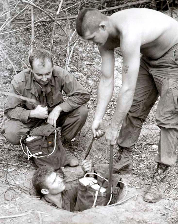 Кроты против крыс: как американцы проиграли вьетнамскую войну из-за подземных лабиринтов с ловушками Вьетнам, подземные коммуникации, сша, тоннели Кути