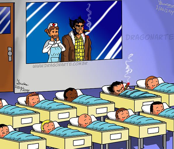 1. Сын Росомахи дети, иллюстрация, комиксы, персонаж, ребенок, супергерой, художник