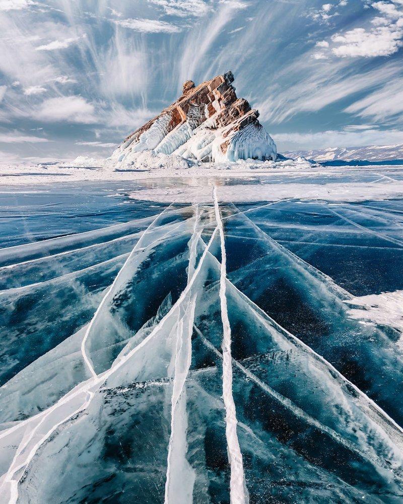 7. байкал, лед, озеро, природа, россия, фотограф, фотомир