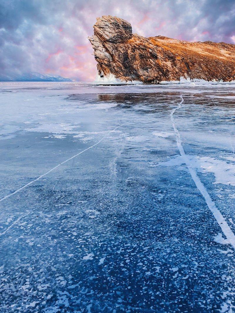 32. байкал, лед, озеро, природа, россия, фотограф, фотомир