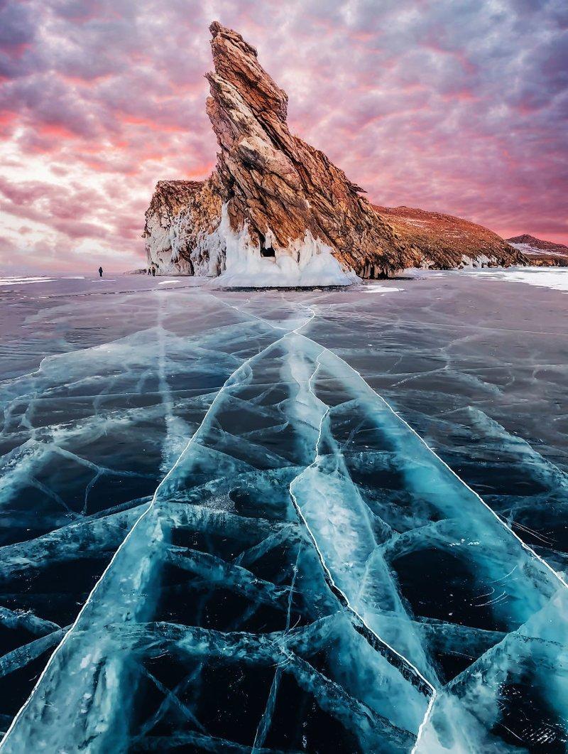 2. байкал, лед, озеро, природа, россия, фотограф, фотомир