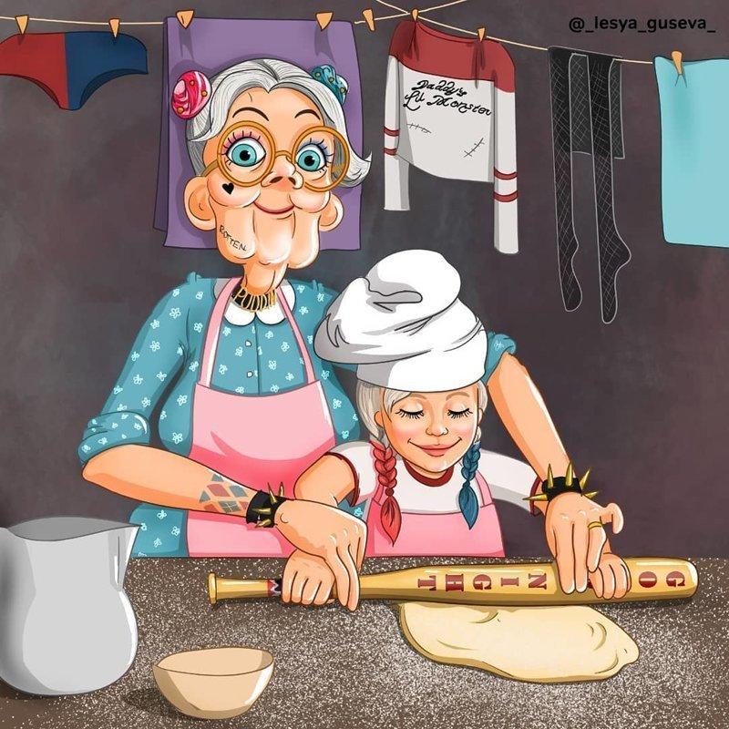 5. Харли Квинн искусство, пенсия, рисунок, супергерои, художница