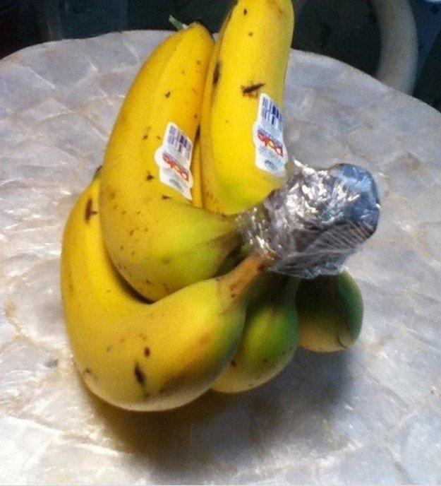 11. Хранение бананов еда, овощи и фрукты, продукты, советы, храним правильно
