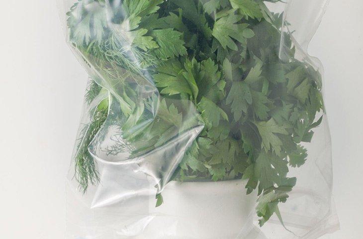 5. Хранение свежей зелени еда, овощи и фрукты, продукты, советы, храним правильно