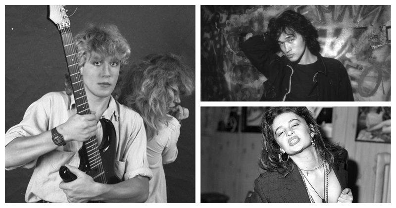 Звёзды советского андеграунда и эстрады на снимках российского фотографа звезды, знаменитости, люди, музыканты, певцы, фотограф