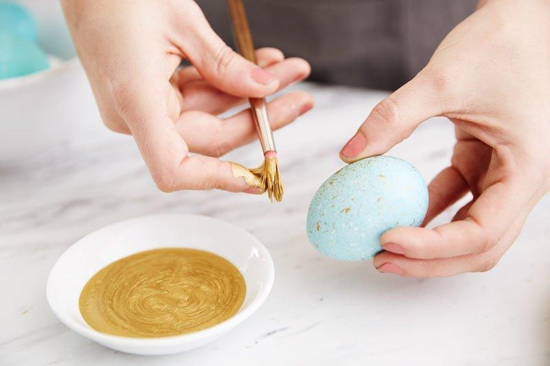 13. Брызги на яйце  пасха, праздник, украшение яиц, яйца