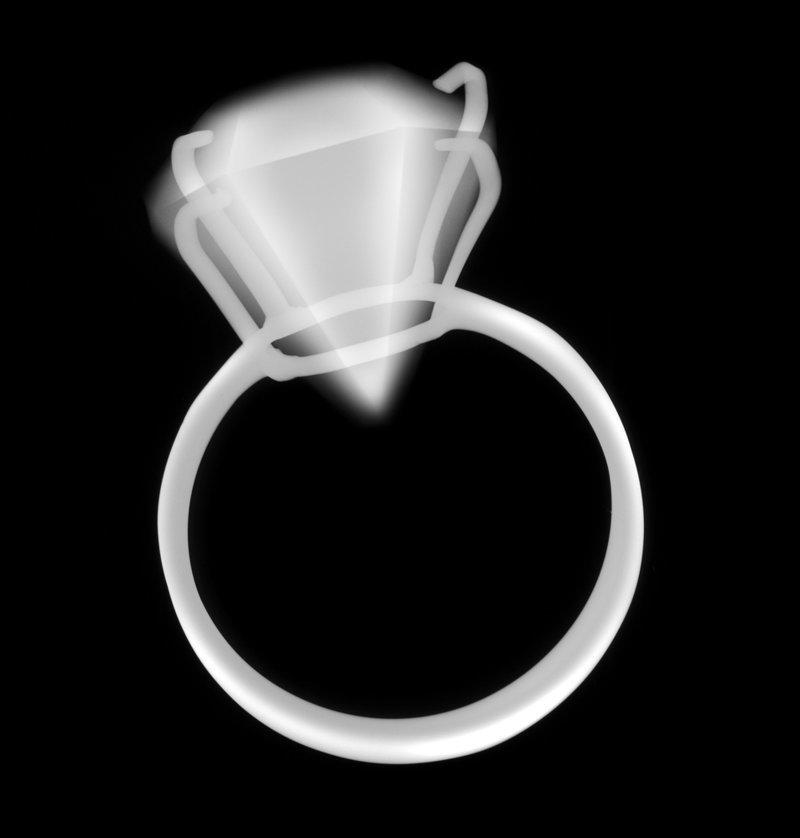 Почему алмаз не видно на рентгене? вопрос, ответ., хочу все знать