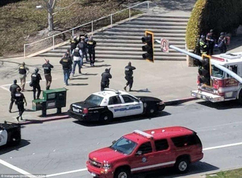 Инцидент произошел в штаб-квартире компании YouTube в городе Сан-Бруно (штат Калифорния, США). Власти исключили связь произошедшего с терроризмом. ynews, youtube, блогер, новости, происшествия, убийство, фото, ютуб