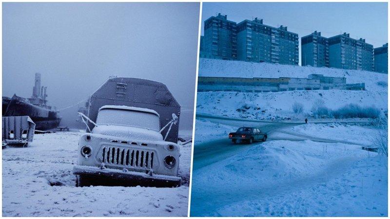 Английский фотограф посетил русский север и сделал очень атмосферные снимки полярные ночи, русский север, саймон робертс, фотография