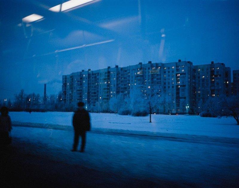 Санкт-Петербург, декабрь 2004 полярные ночи, русский север, саймон робертс, фотография